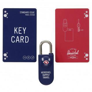 Vorhängeschloss Herschel tsa card lock