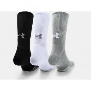 Packung mit 3 Paar hohen Socken Under Armour HeatGear® Crew