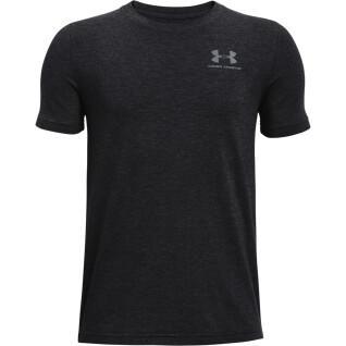 Jungen-T-Shirt Under Armour à manches courtes en coton