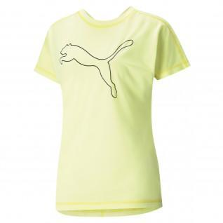 Frauen-T-Shirt Puma Train Favorite Jersey Cat