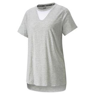Damen-T-Shirt Puma Train Mesh