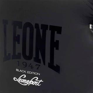 Schwarze und weiße Boxhandschuhe Leone 14 oz
