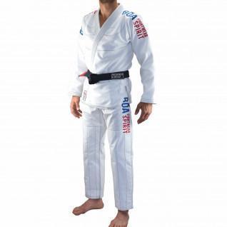 Kimono von jjb Bõa Tudo Bem 2.0 Blanc