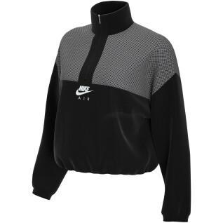Damen-Sweatshirt Nike Sportswear Air QZ PK Plus