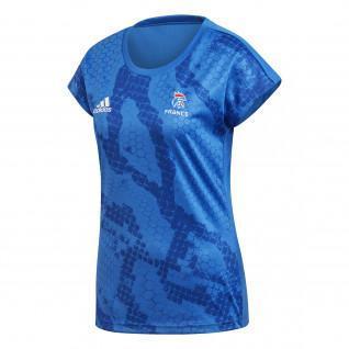 Damen-Trainingstrikot Adidas Equipe de France Handball