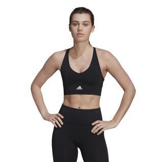 BH für Frauen adidas Aeroknit Designed 2 Move Seamless