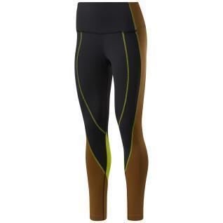 Damen-Leggings mit hoher Taille Reebok Colorblock Lux