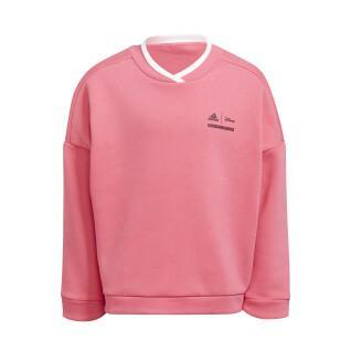 Sweatshirt für Mädchen adidas Disney Comfy Princesses Crew