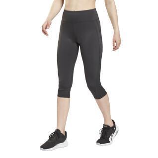 3/4-Netz-Leggings für Frauen Reebok Workout Ready