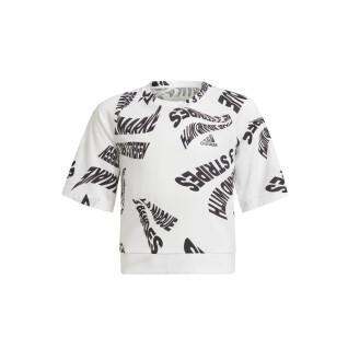 Mädchen-T-Shirt adidas Primegreen Move