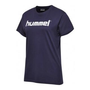Frauen-T-Shirt Hummel go logo
