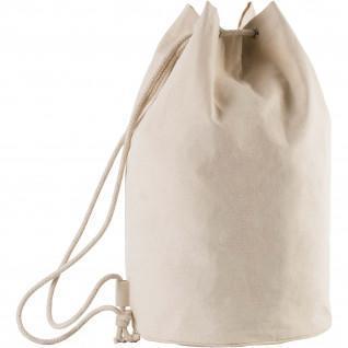 Tasche Kimood Marin en Coton avec Cordon blanc